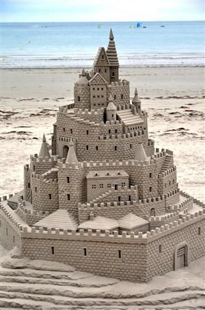 Queen of my Own Sandcastle