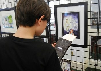 Decatur Arts Festival's Gallery Show of Book Covers